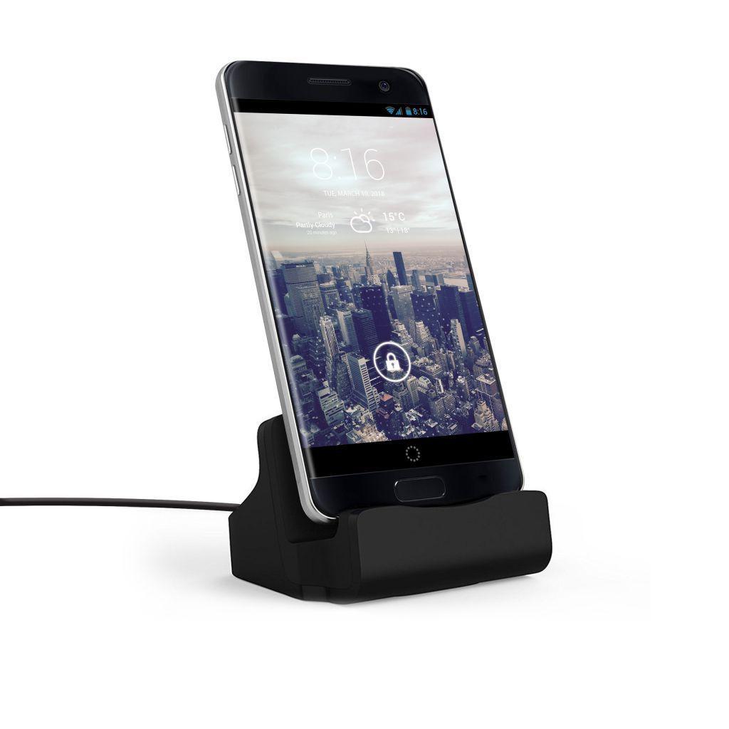 Dock de charge - Connecteur Micro USB - Finition Rubber Black