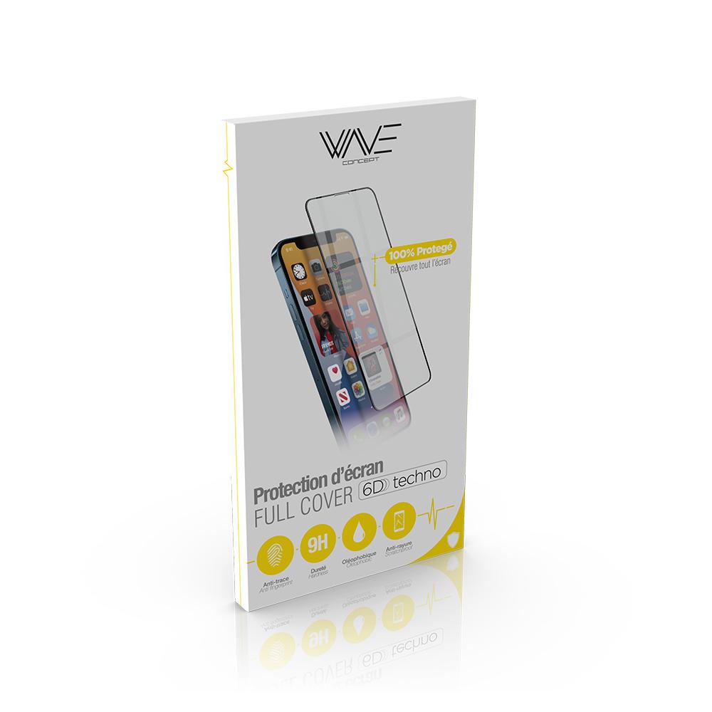 Film en verre trempé 6D pour iPhone 12