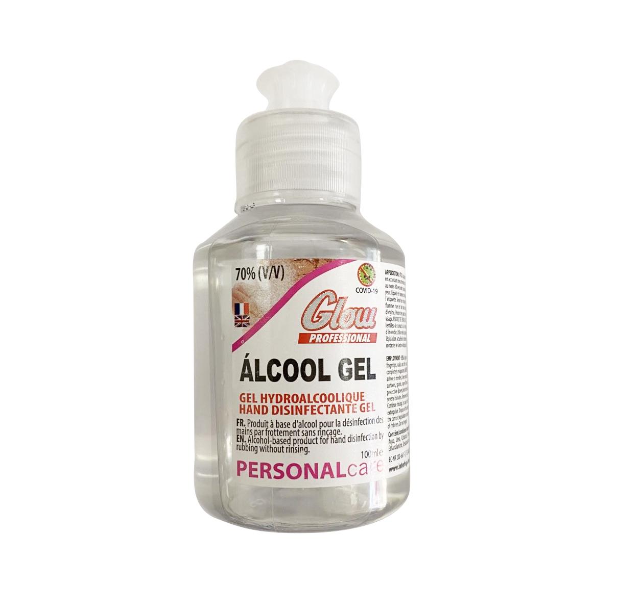 Flacon de Gel Hydro Alcoolique 100 ML