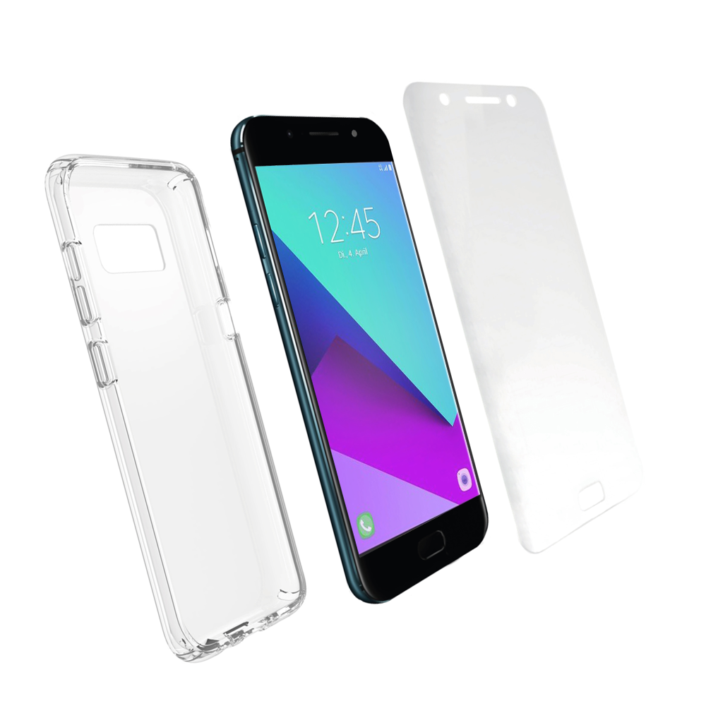 Pack Ultimate Protect Galaxy Série A - La protection maximale de votre smartphone.