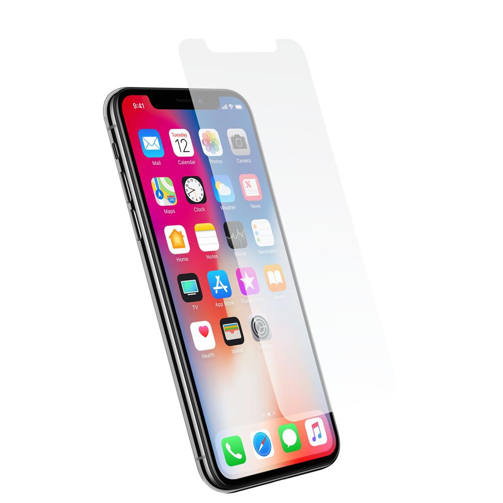 Protection d\\\'écran pour iPhone X en verre trempé antichoc - sans blister