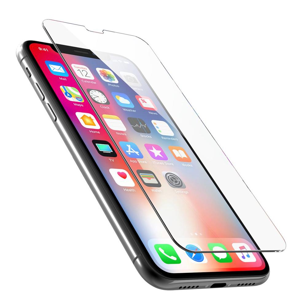 Protection d\\\'écran pour iPhone X en verre trempé antichoc