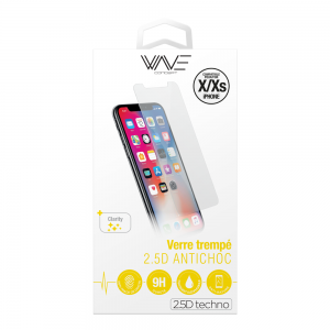 Protection d\\\'écran pour iPhone X/XS en verre trempé antichoc