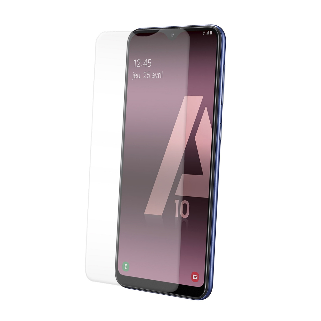 Protection d\'écran pour Samsung A10 en verre trempé antichoc