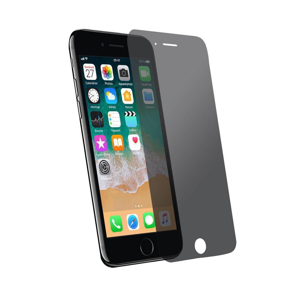 Protection d\\\'écran Privacy pour iPhone 6/6s en verre trempé antichoc