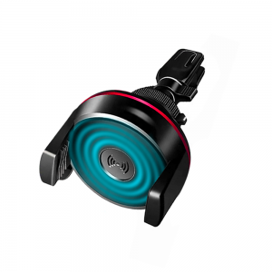 Support voiture Aero-Qi Car avec Technologie Qi pour Grille d\'Aération